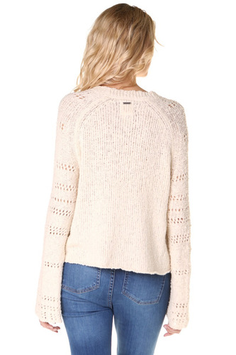sweater billabong cozy love mujer crudo