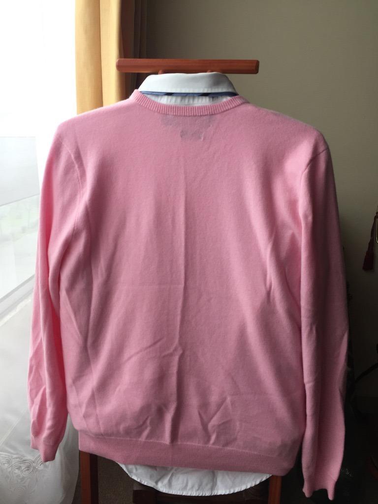 ... closeout sweater cachemira rosado hombre ralph lauren slim l detalle. cargando  zoom. 76b1d 601e5 337c0578bd0c