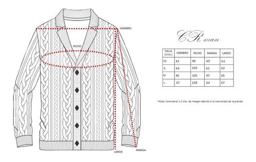 sweater chaleco cardigan