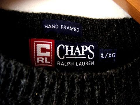 sweater chaps de  ralph lauren 100% lana