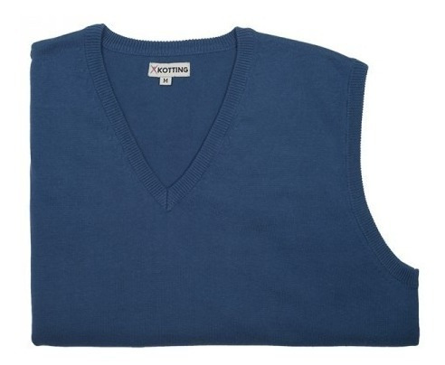 sweater clásico sin mangas v