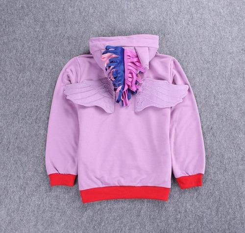 sweater con gorro my little pony