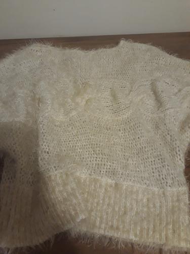 sweater crudo divino mujer