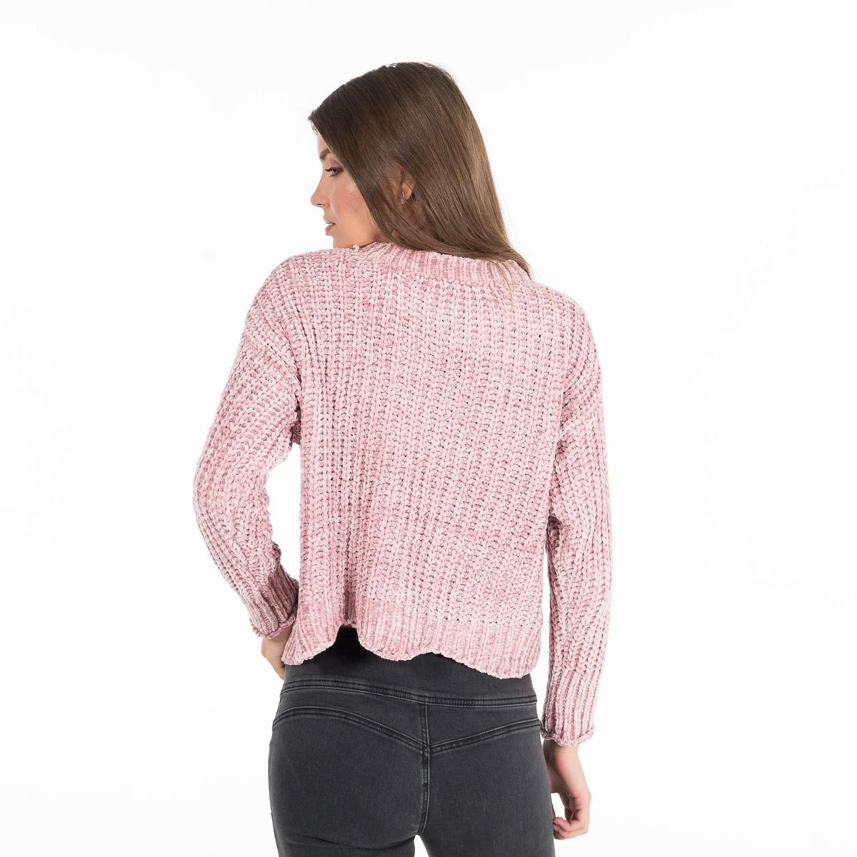 c04d9bf1a007f Sweater Cuello Redondo Qd26a055 Quarry -   199.90 en Mercado Libre