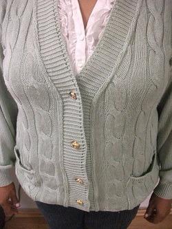 sweater dama señorial tejido talla l usado tienda virtual