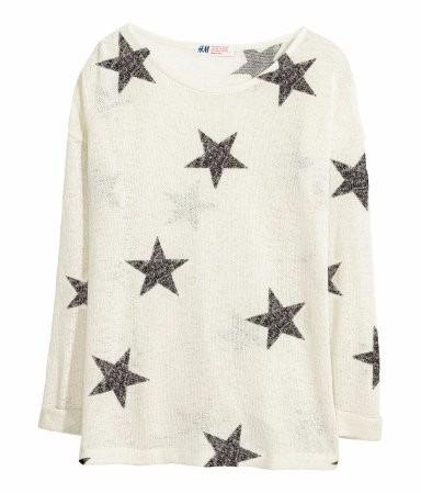 sweater de hilo media estacion h&m - importado