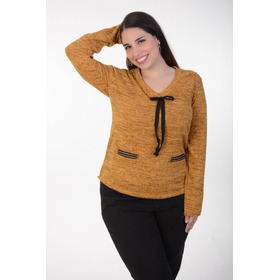Sweater De Lanilla Art.824 Talles Grandes Especiales