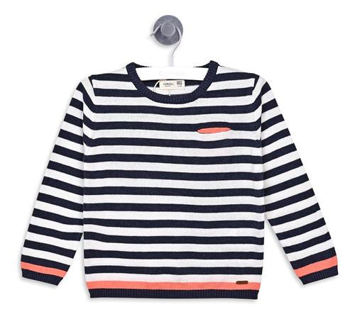 sweater franjas blue denim boy colloky