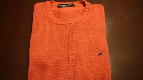 sweater kevingston hombre (rojo)