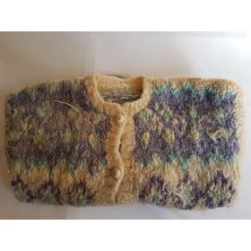 Sweater Lana Hilada Artesanal Oportunidad Unica !!