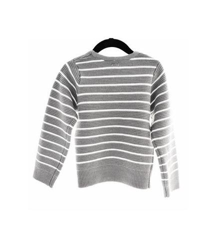 sweater listado gris