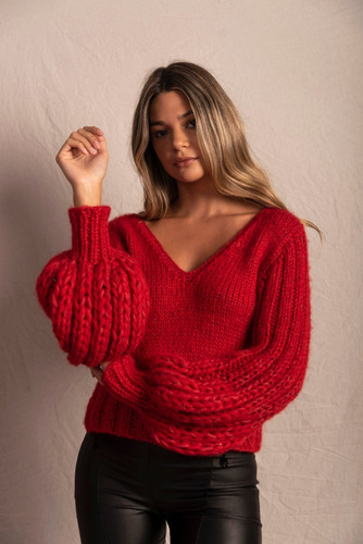 sweater manga globo