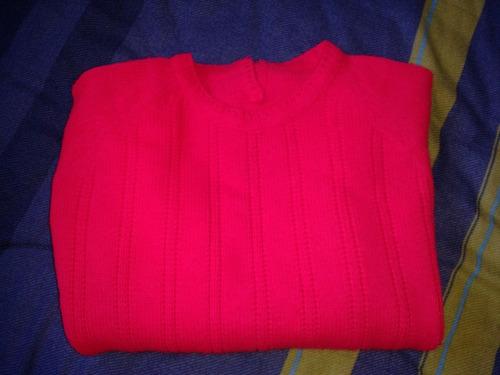 sweater mujer color sandía talla s