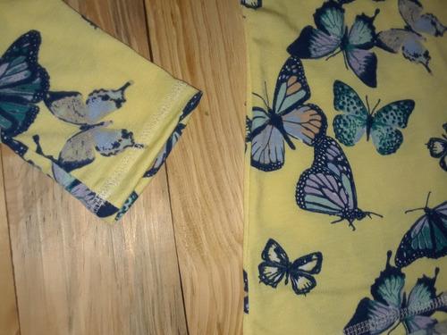 sweater niña manga larga emotions mariposas