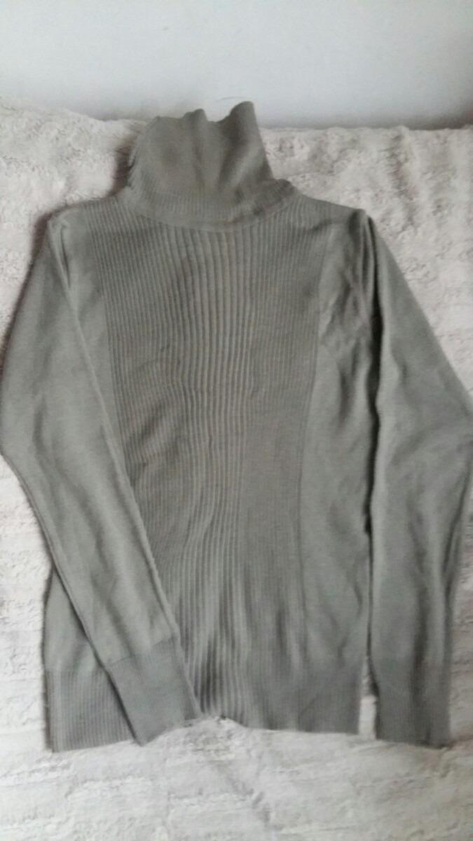 sweater polera lana suave de mujer talle m verde seco claro. Cargando zoom. d99d7fd1ea07