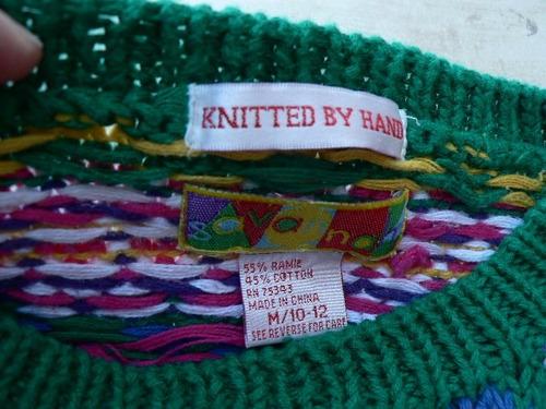 sweater pullover buzo hilo  nena varon 6 y 8 años ropaniña00