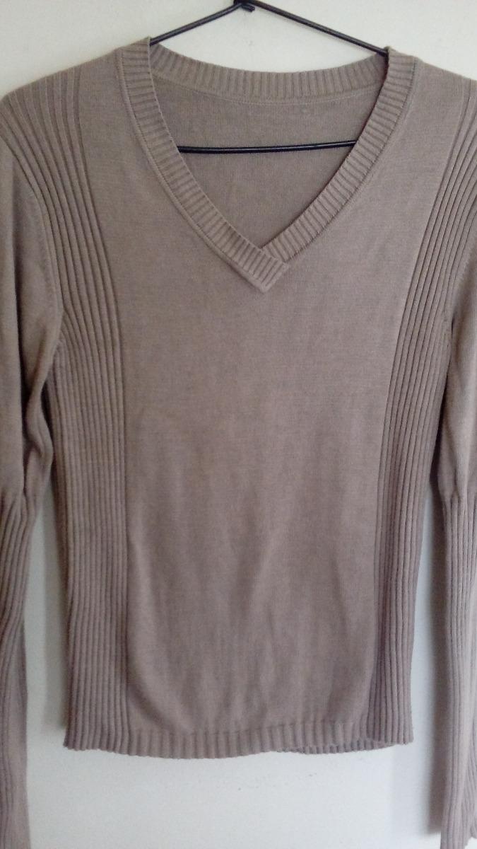 sweater pullover de lana beige de mujer. Cargando zoom. 3a5182ac5a93
