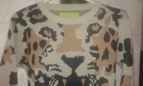 sweater rapsodia tigre