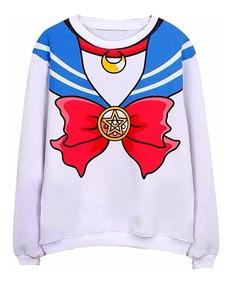 sitio de buena reputación 4e9dc 8ca01 Sweater Sailor Moon Sudadera Suéter