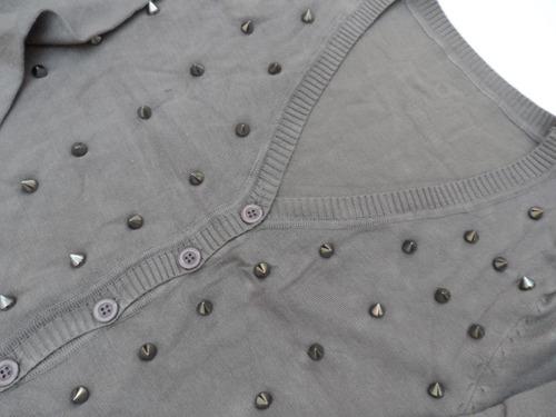 sweater saquito cardigan escote