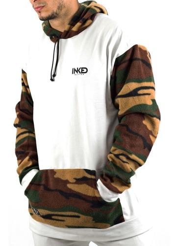 sweater sudaderas inked blanco camuflado detal mayor
