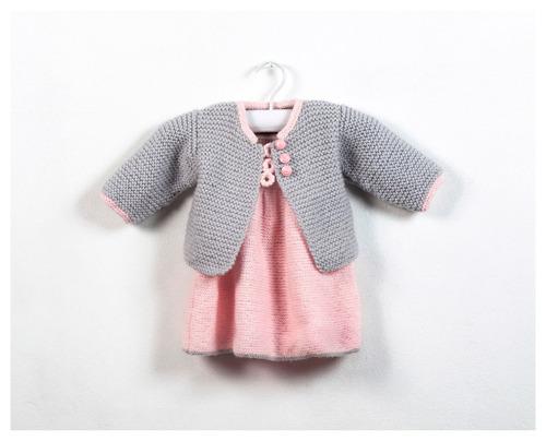 sweater tejido cardigan bebe