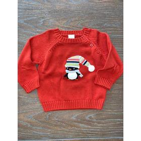 Sweater Tejido Naranja Talle 12-18 Meses Gymboree