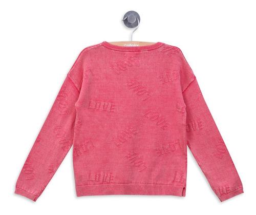 sweater tejido texto rose girl colloky