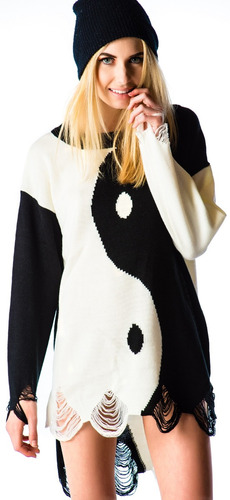 sweater unif   ying yang  original talla l*nuevo*