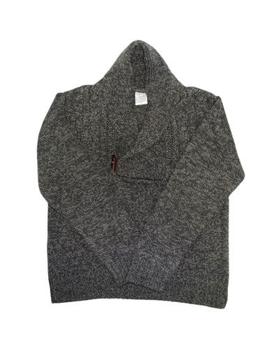 sweater varón cuello principe jaspeado t.16- pompas