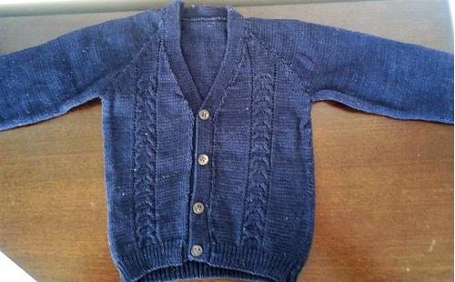 sweaters-cardigans saquitos bebe t0-9 m tejidos creciendo