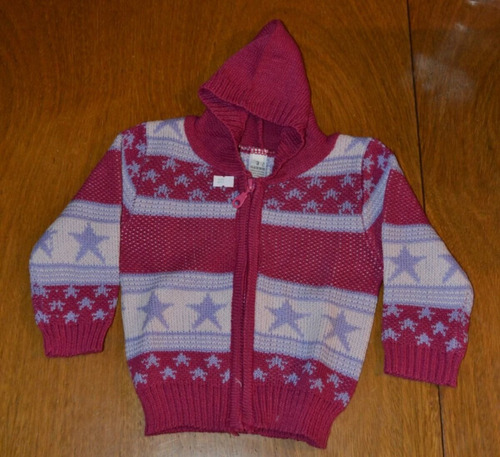 sweaters cierre capucha 4-5 años. little treasure.