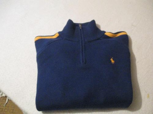 sweaters de niño polo de ralph lauren talla m color azul
