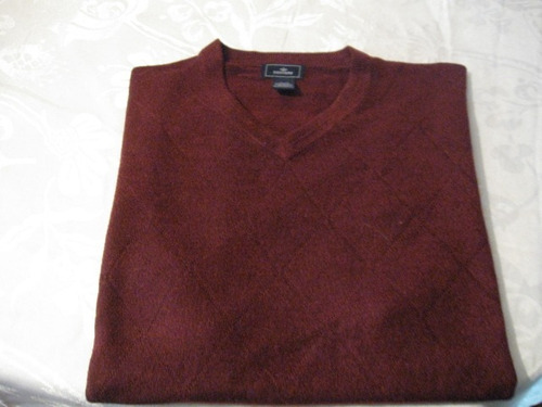 sweaters dockers talla xl sin mangas color burdeo impecable