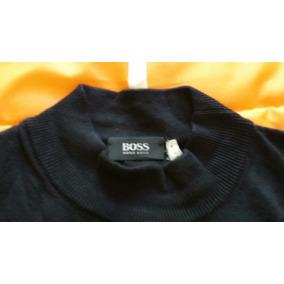 b253bbcb76a27 Sueter Hugo Boss Original Color Negro Talla Xxl Nuevo!