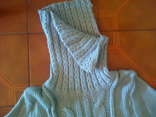 sweaters mujer cuello alto