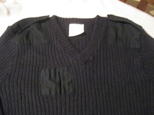 sweaters tactico quartermaster talla m color negro de lana