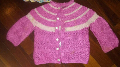sweaters tejidos a mano bebe niña