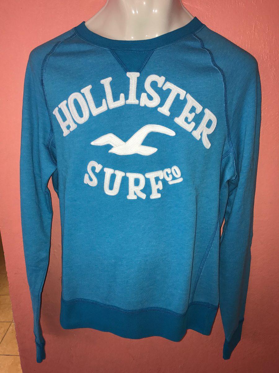 Sweatshirt Hollister Para Hombre, %100 Original Talla M ...
