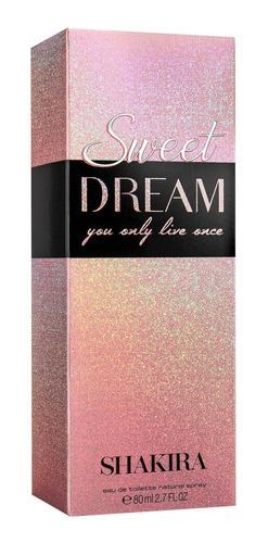 sweet dream shakira eau de toilette - perfume feminino 80ml