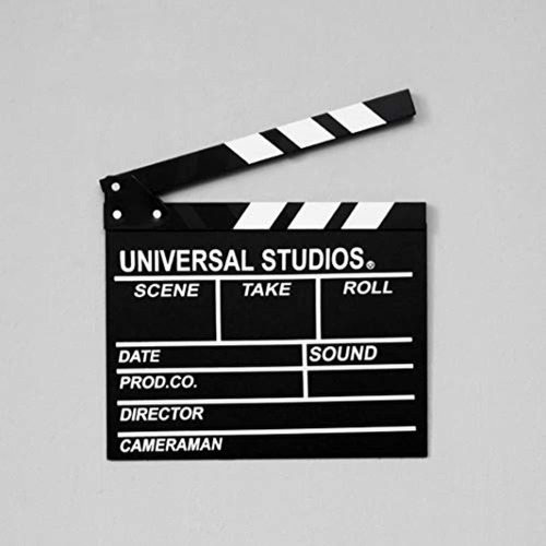 sweet fanmulin wooden director  s film clapboard