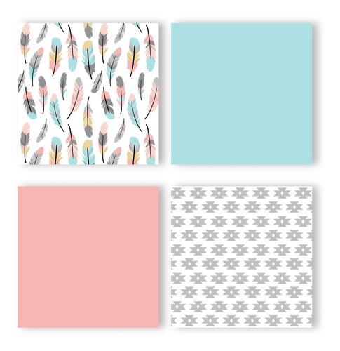 sweet jojo designs - juego de cama con cuna, 9 piezas fea