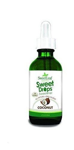 sweet leaf liquid stevia coconut 2 oz