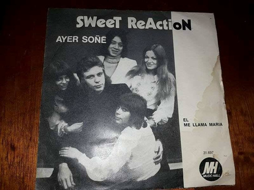 sweet reaction single.-