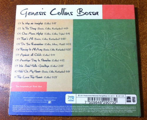 sweet voices - genesis collins bossa (cd, 2011)