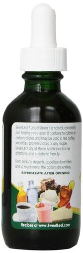 sweetleaf sweet drops endulzante líquido de stevia, caramelo