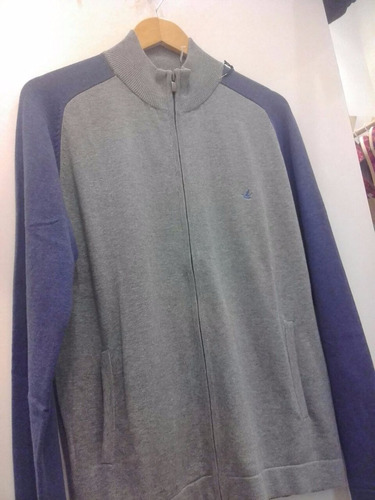 sweter brooksfield algodon (escote en v)
