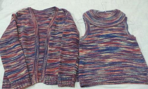 sweter /twinset de lana