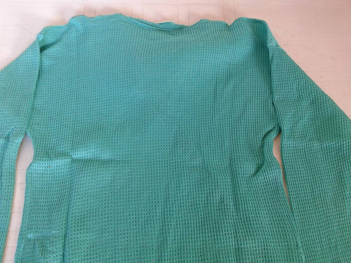 sweter verde 100 % algodon talle s impecable!