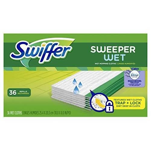 swiffer sweeper wet mopping pad recambios para piso !